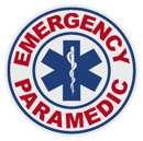 Round Paramedic Decal