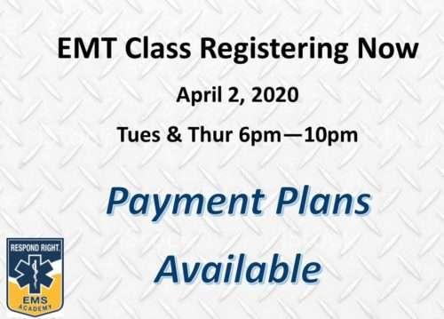 EMT Class April 2020