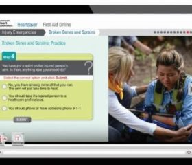 HeartSaver First Aid Online - Includes Skills Testing