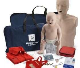 CPR Manikin / AED Combination