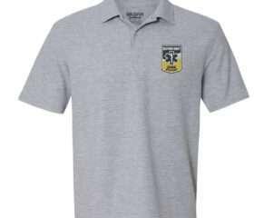 Grey - Instructor Uniform Polo S/S w/RREMSA Logo (Adjunct Instructors Only)