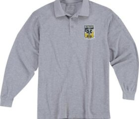 Grey Instructor Uniform Polo L/S- w/RREMSA Logo (Adjunct Instructors Only)
