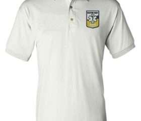 White- Instructor Uniform Polo S/S-  w/RREMSA Logo (Primary Instructors Only)