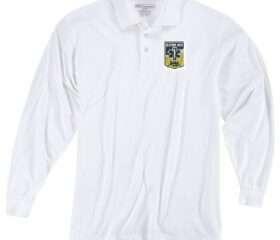 White - Instructor Uniform Polo L/S-White w/RREMSA Logo (Primary Instructors Only)